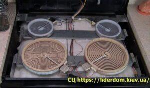 ремонт электроплиты Electrolux